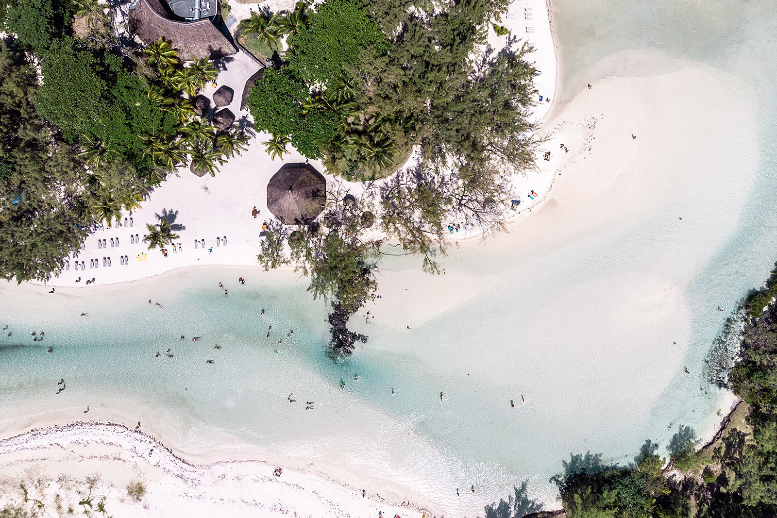 ile aux cerfs mauritius drohne dji travel blogger sunnyinga