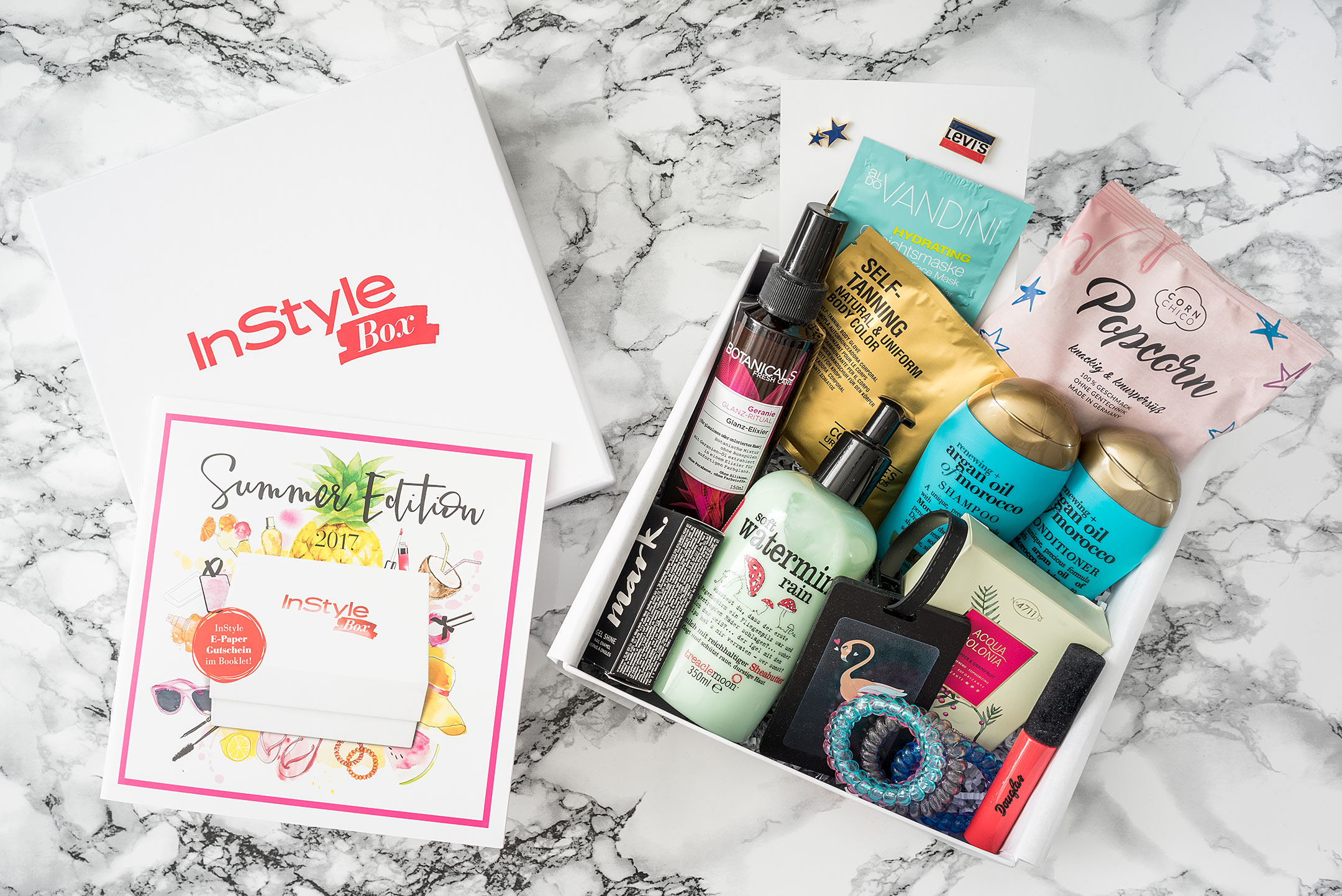 InStyle Box Summer Sommer Edition 2017 Beauty Blog Düsseldorf Sunnyinga
