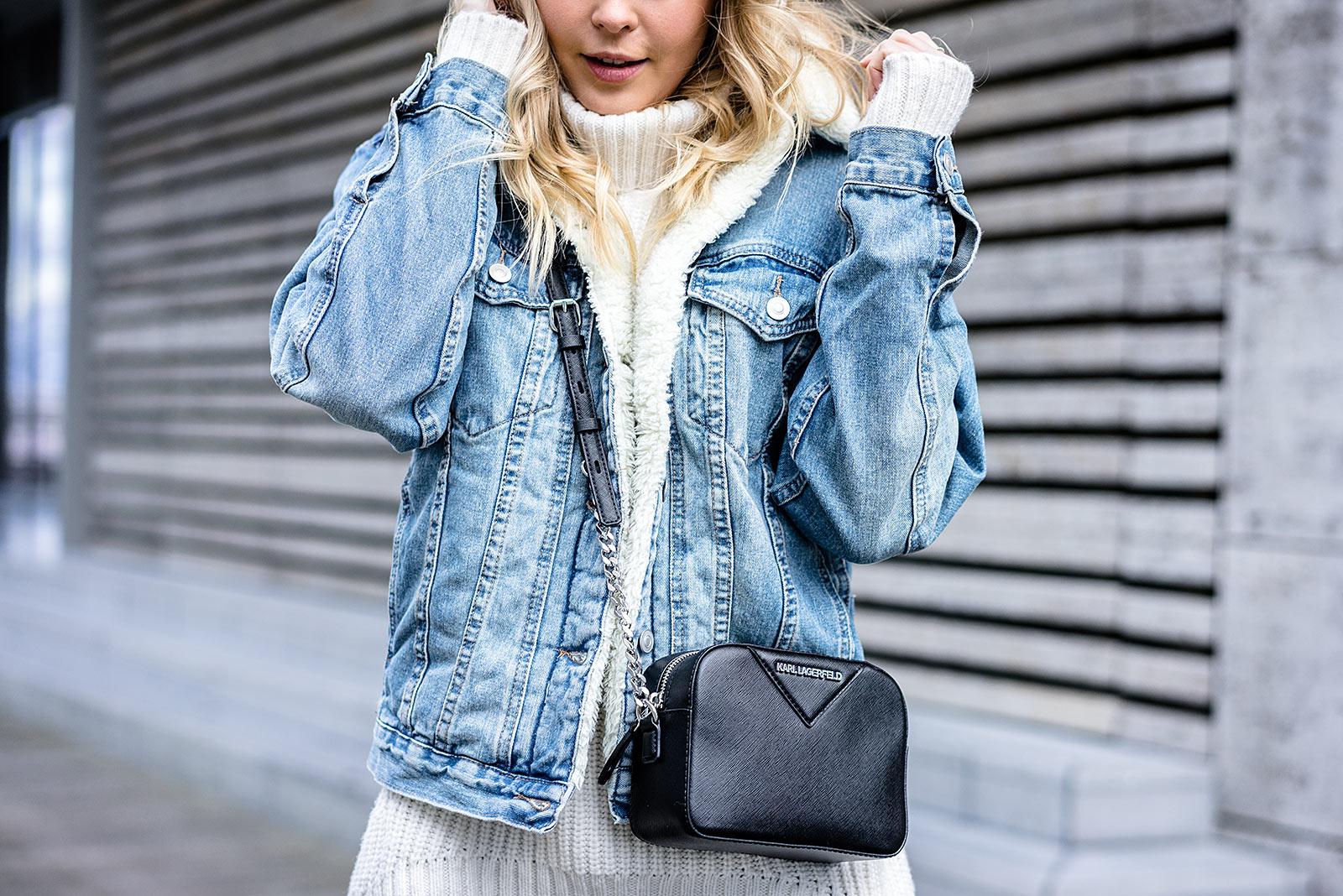 Winter jeansjacke