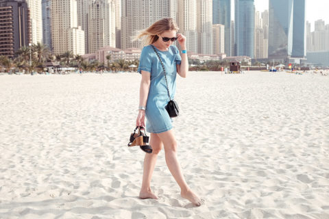 Jeanskleid Denim Dubai Sunnyinga Blog