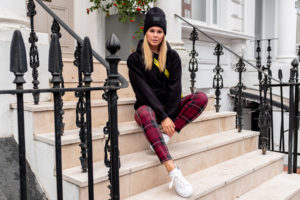 karierte hose outfit fashion blogger london notting hill sunnyinga