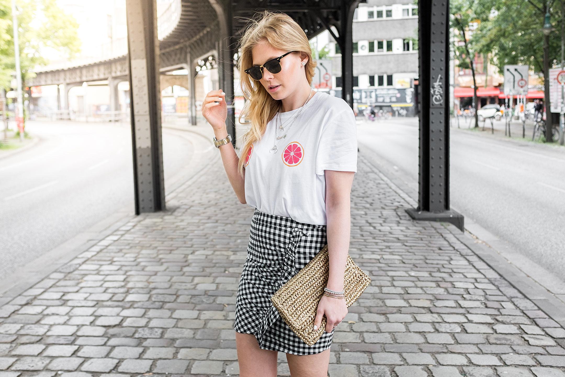 Karorock Basttasche Outfit Fashion Blog Düsseldorf Sunnyinga