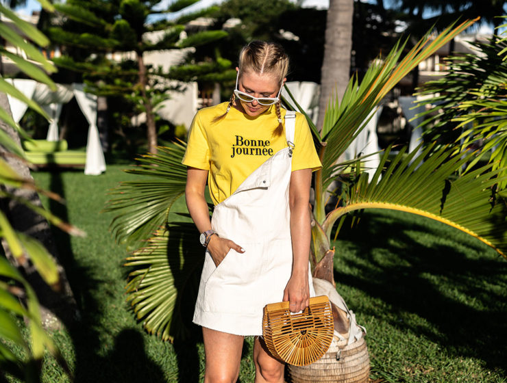 latzkleid outfit cult gaia bag fashion blogger sunnyinga