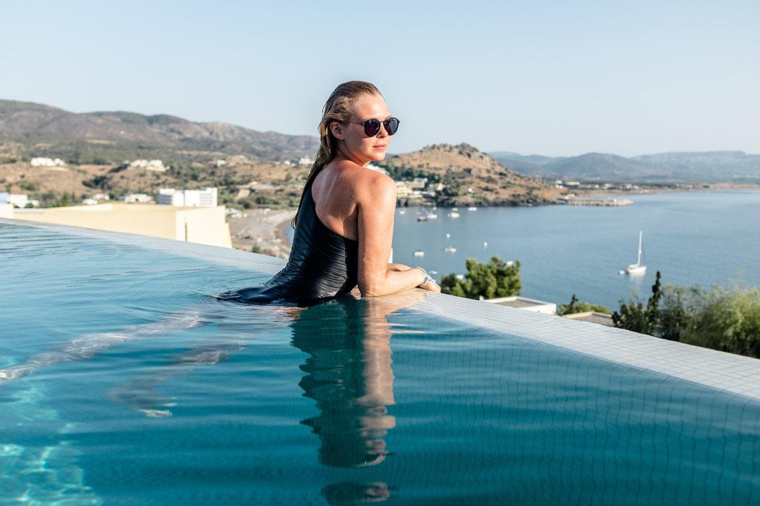 Lindos Blu Luxury Hotel Rhodos Erfahrung Review Travel Blog Sunnyinga