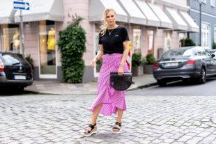midirock outfit basic shirt fashion blogger sunnyinga