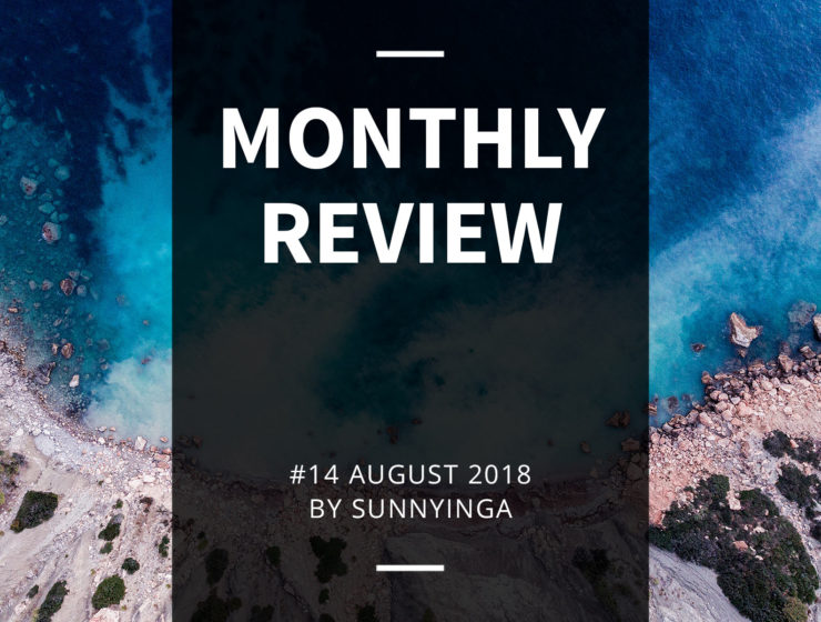Sunnyinga Monthly Review Monatsrückblick #14 August 2018