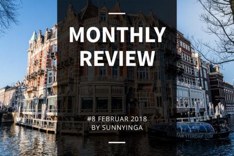 Sunnyinga Monthly Review Monatsrückblick #8 Februar 2018