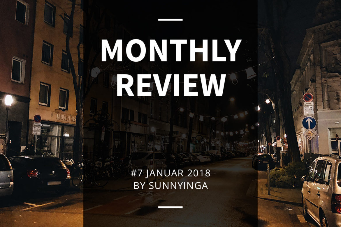 Sunnyinga Monthly Review Monatsrückblick #7 Janauar 2018