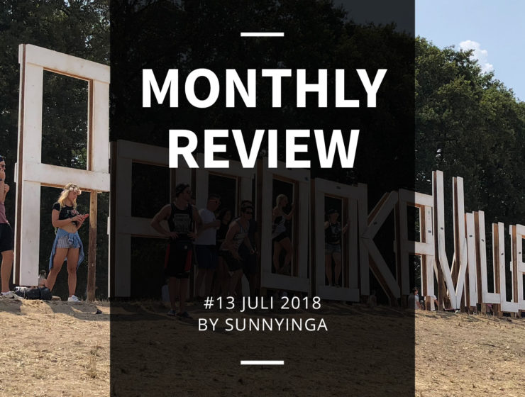 Sunnyinga Monthly Review Monatsrückblick #13 Juli 2018