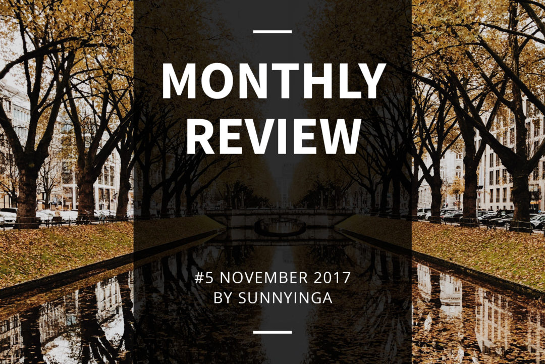 Sunnyinga Monthly Review Monatsrückblick #5 November 2017