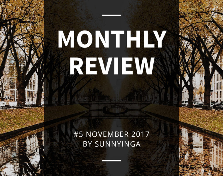 Sunnyinga Monthly Review Monatsrückblick #5 November 2017