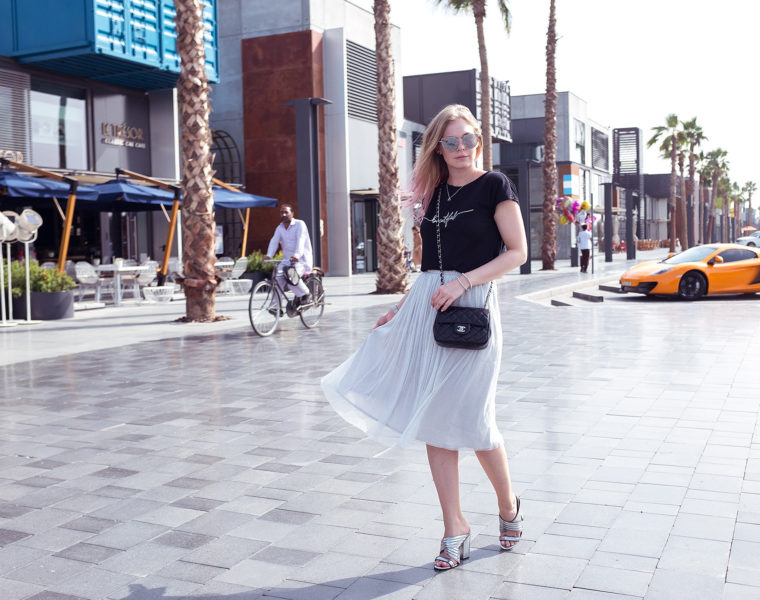 Mules Silber Trendschuh Sommerschuhe Outfit Fashionblog Düsseldorf-sunnyinga