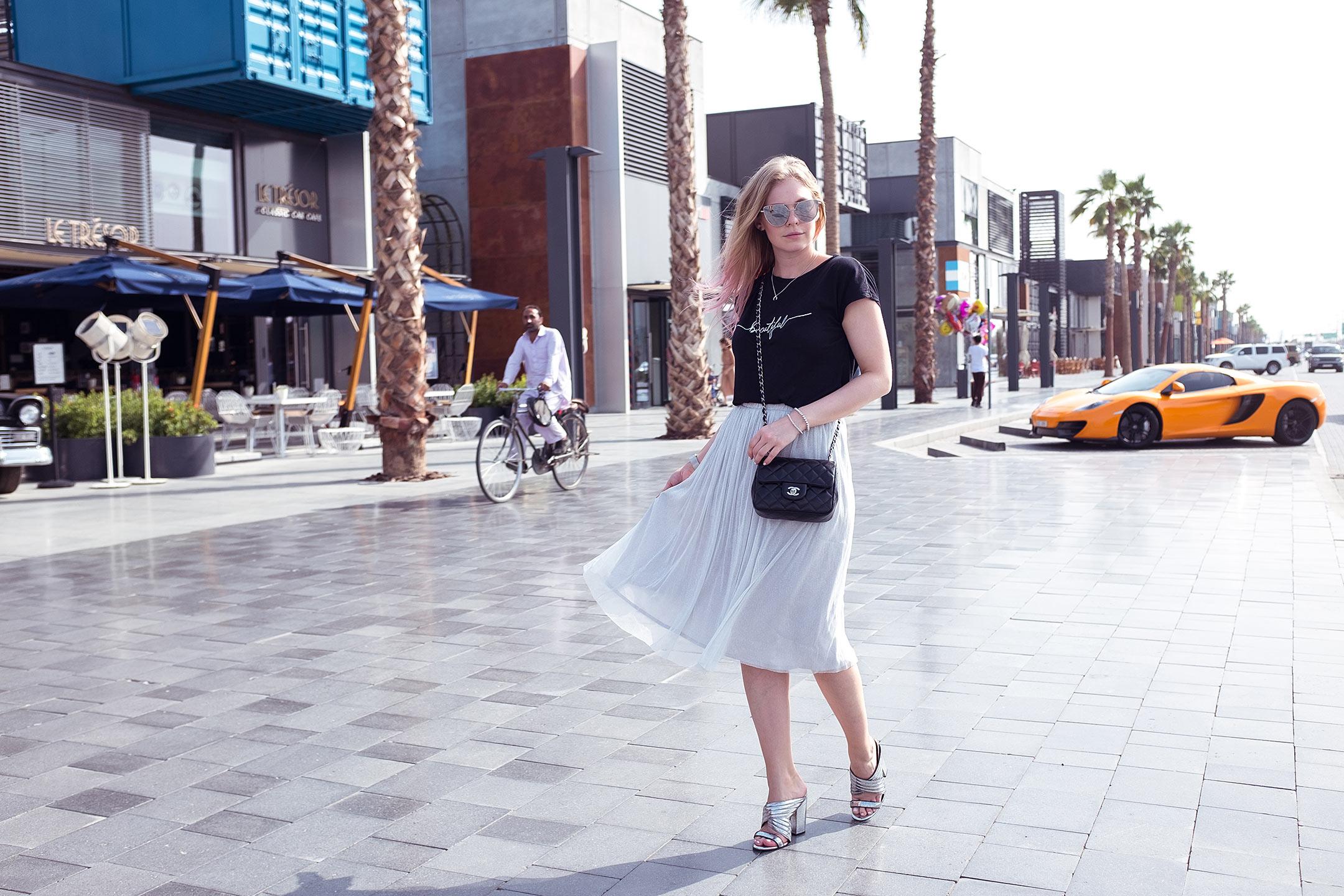 Mules Silber Trendschuh Sommerschuhe Outfit Fashionblog Düsseldorf-sunnyinga