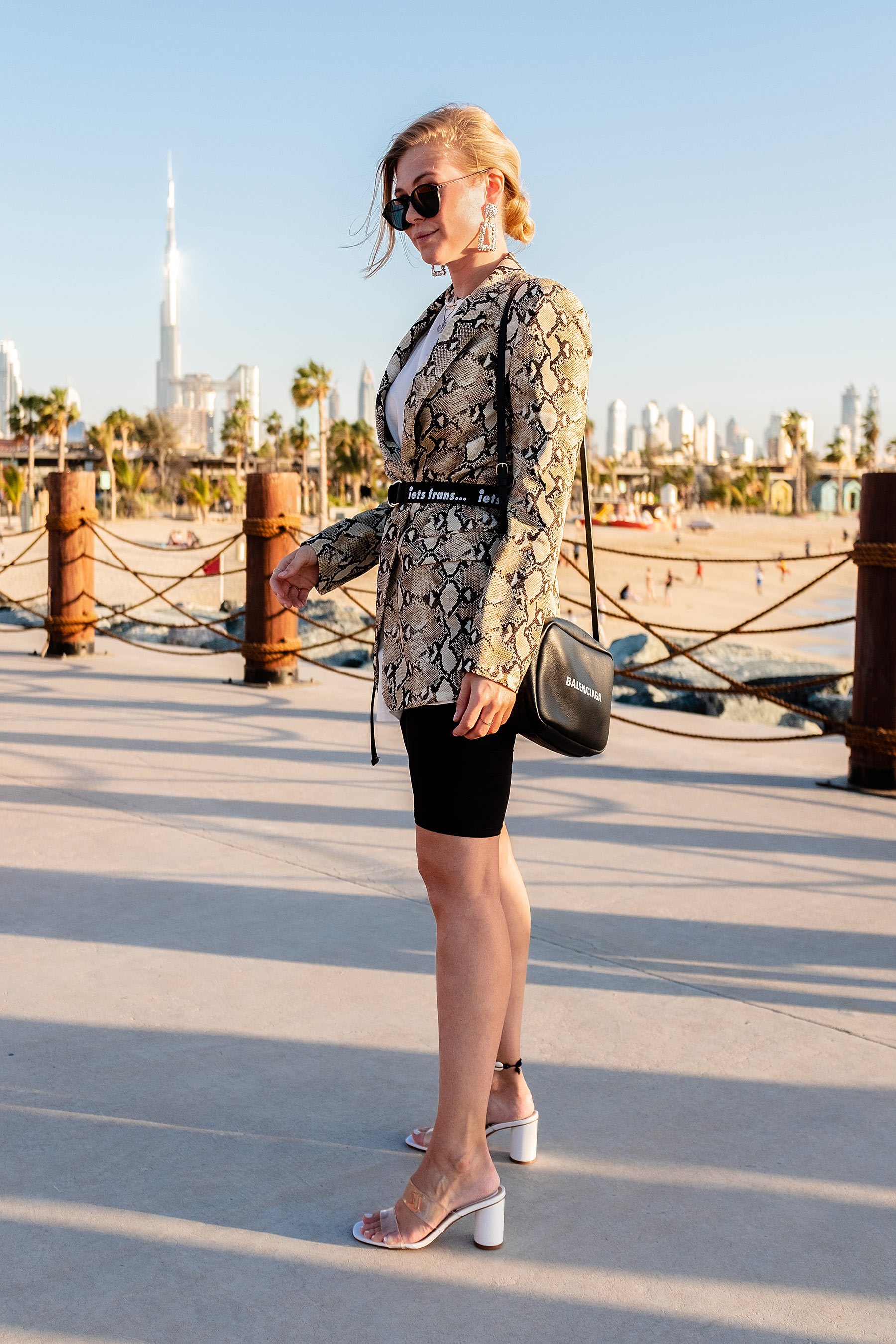 naked heels vinyl outfit kombinieren blogger sunnyinga