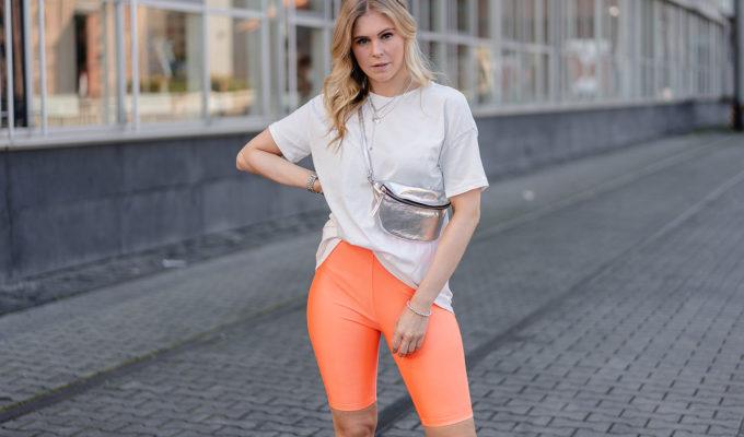 neon outfit radlerhose fashion blogger inga brauer sunnyinga
