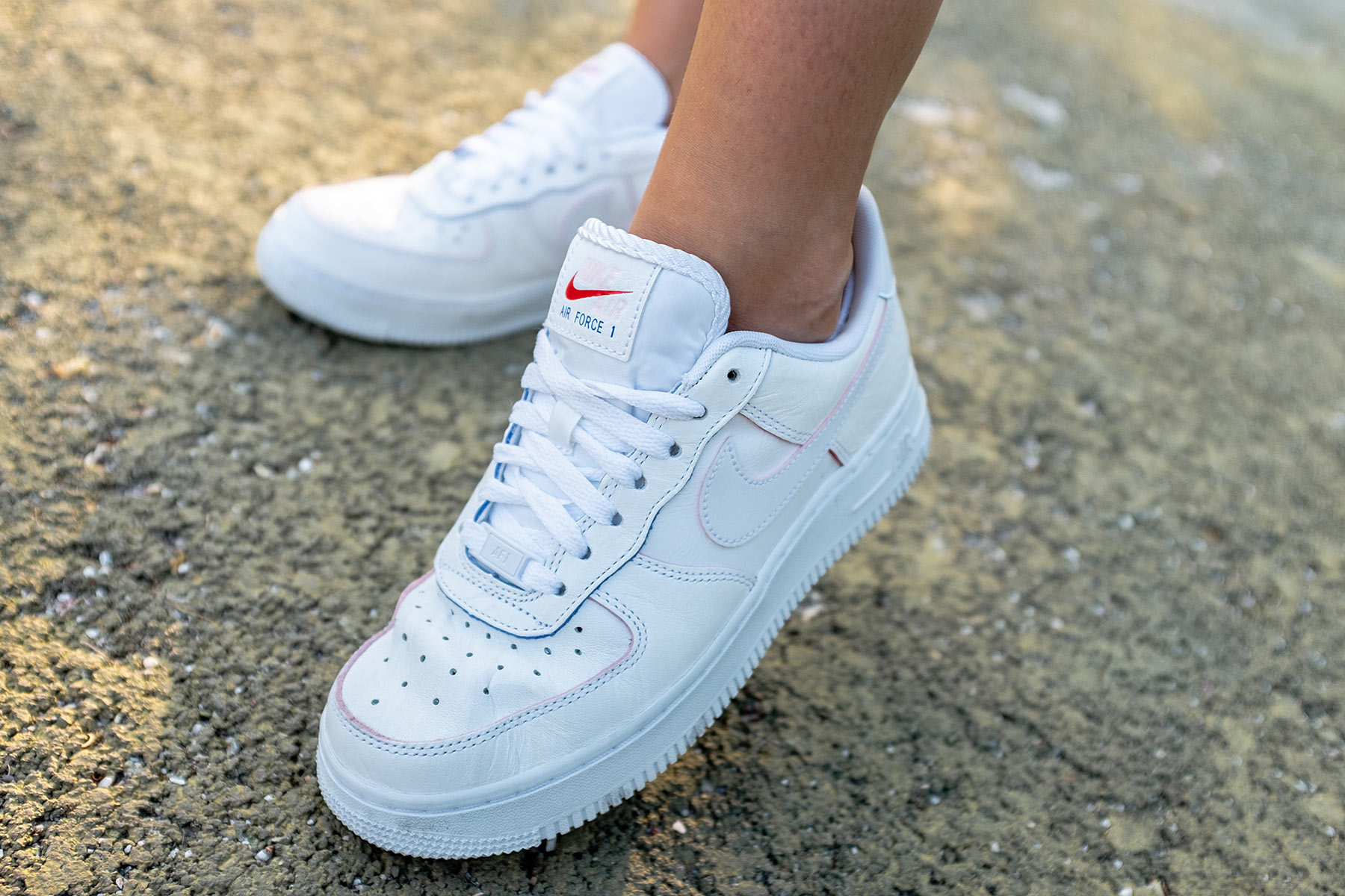 nike air force 1 low all white wmns fashion blogger sunnyinga