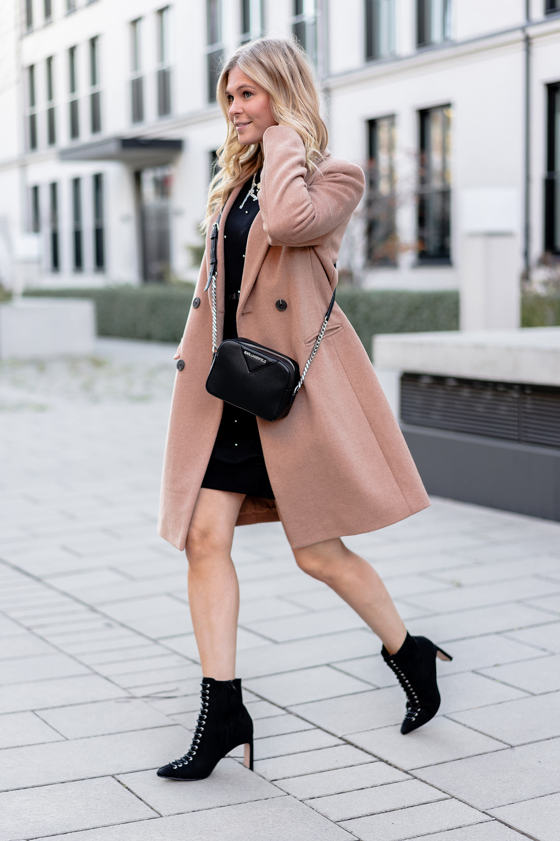 outfit camel coat herbst look streetstyle modeblog sunnyinga