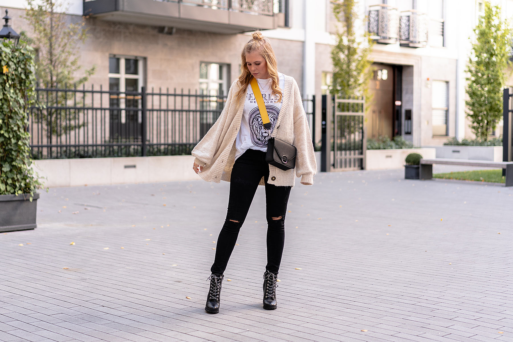 outfit cardigan fashion blogger sunnyinga düsseldorf
