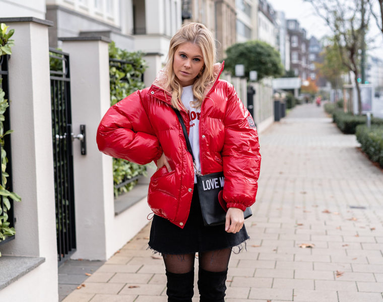 outfit puffer jacket streetstyle fashion blogger sunnyinga