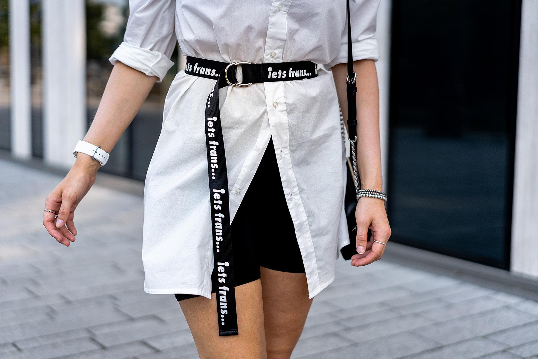 outfit radlerhose schwarz fashion blog sunnyinga