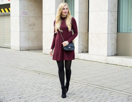 Winterkleid Outfit