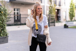 oversized cardigan outfit fashion blogger düsseldorf sunnyinga