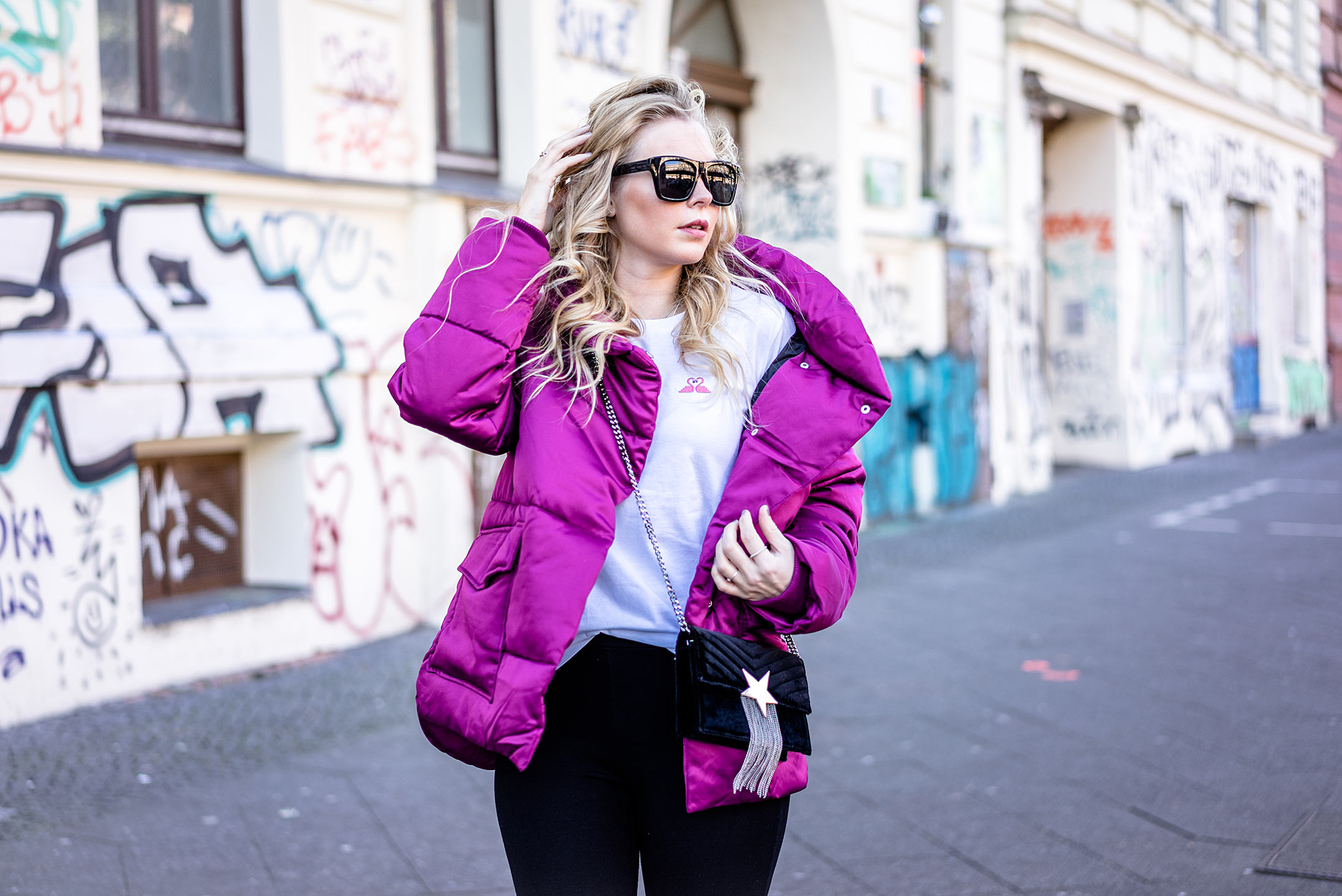 Puffer Jacket Outfit Fashion Blogger ootd Streetstyle Berlin Trend Sunnyinga