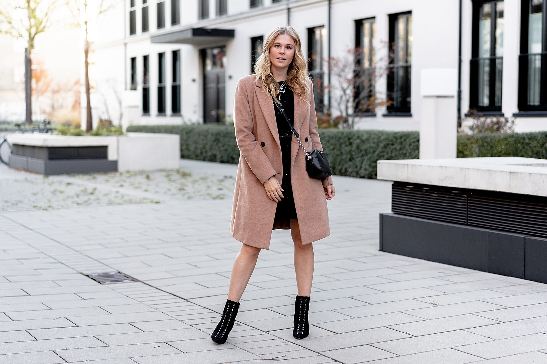 reserved camel coat herbst look fashion ootd sunnyinga
