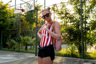 sommer-look nike air force 1 outfit fashion blogger sunnyinga