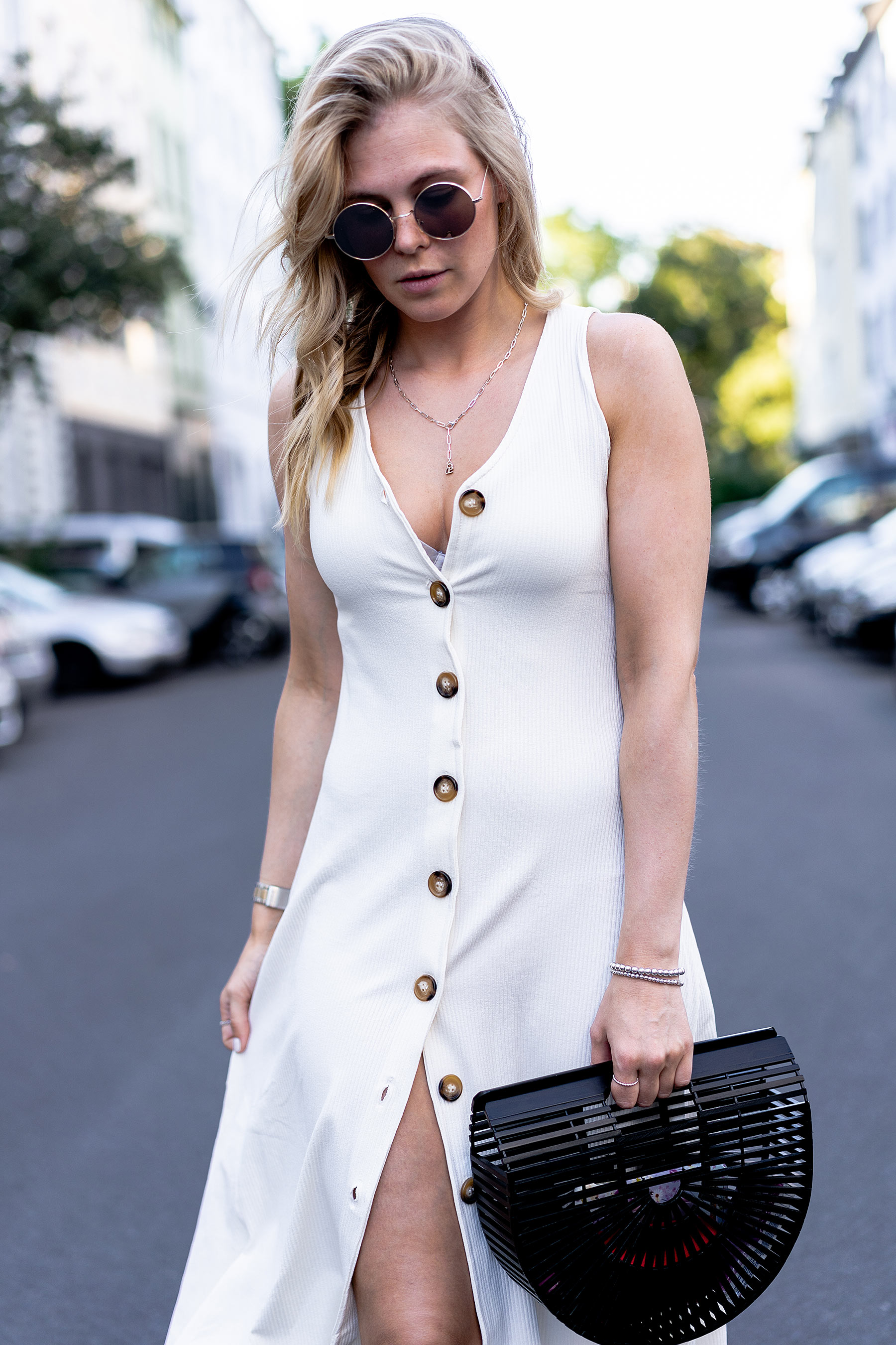 sommer outfit kleid fashion blogger sunnyinga