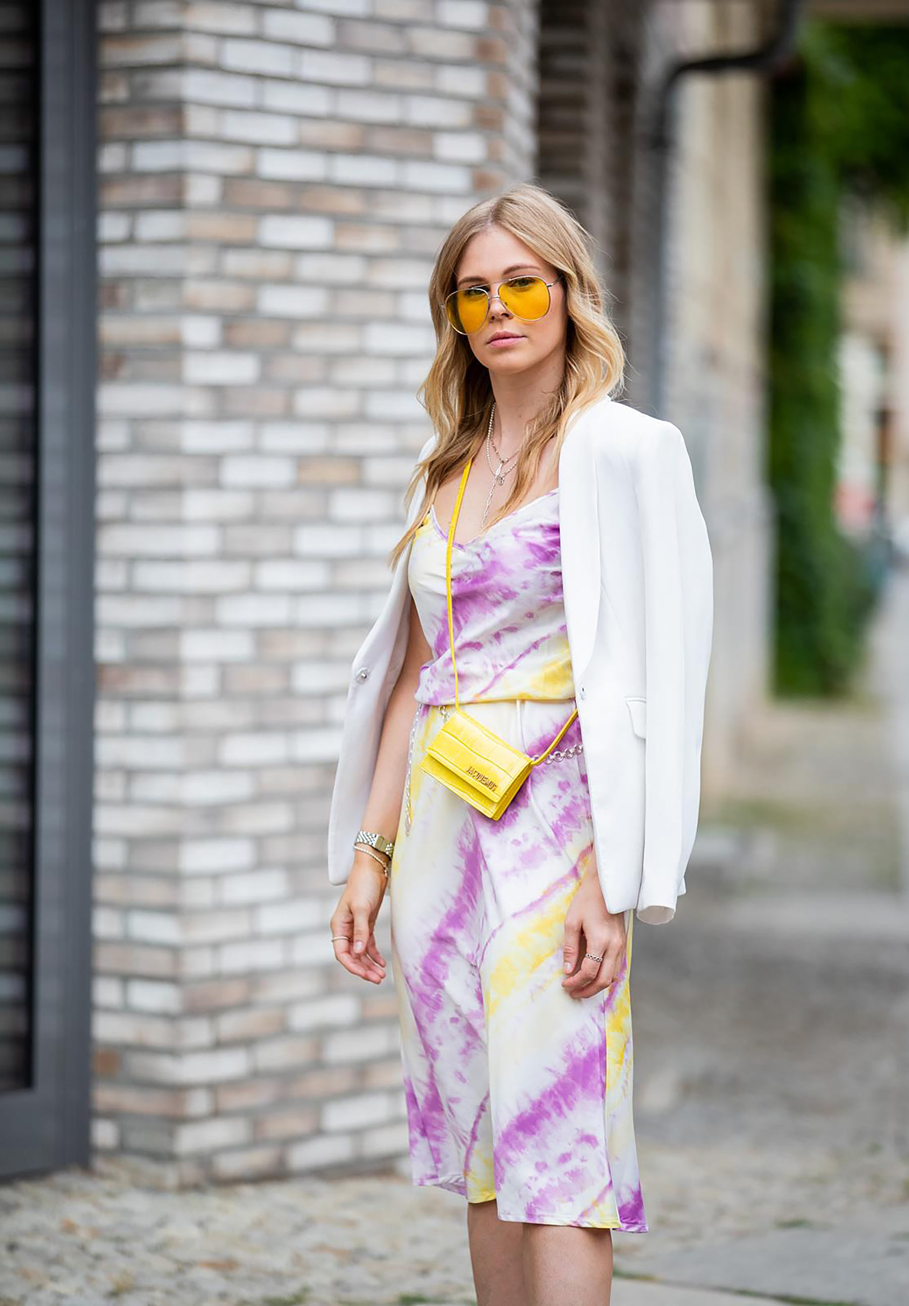streetstyle satinkleid fashion blogger inga brauer berlin