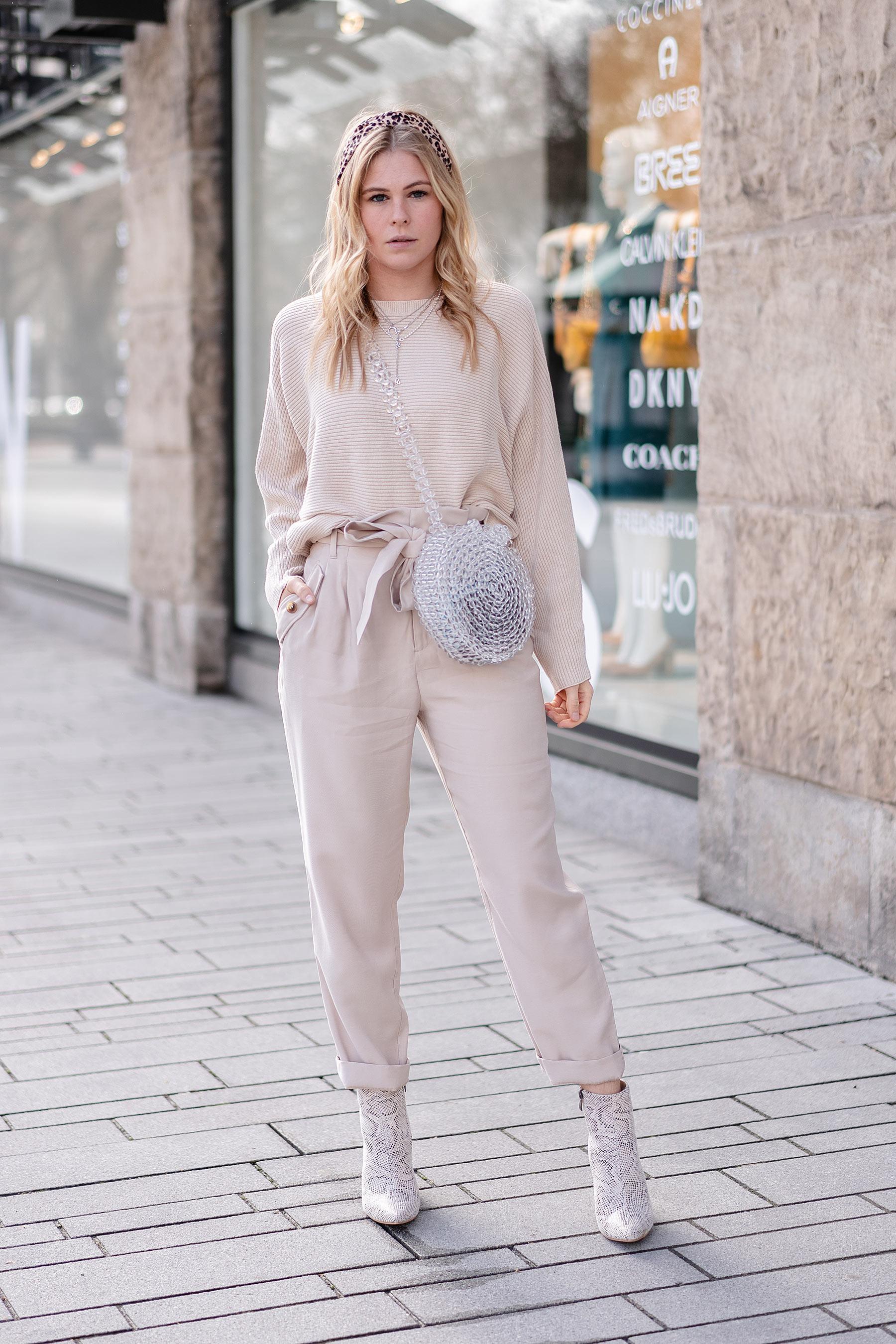streetstyle otufit trendfarbe beige fashion blog sunnyinga