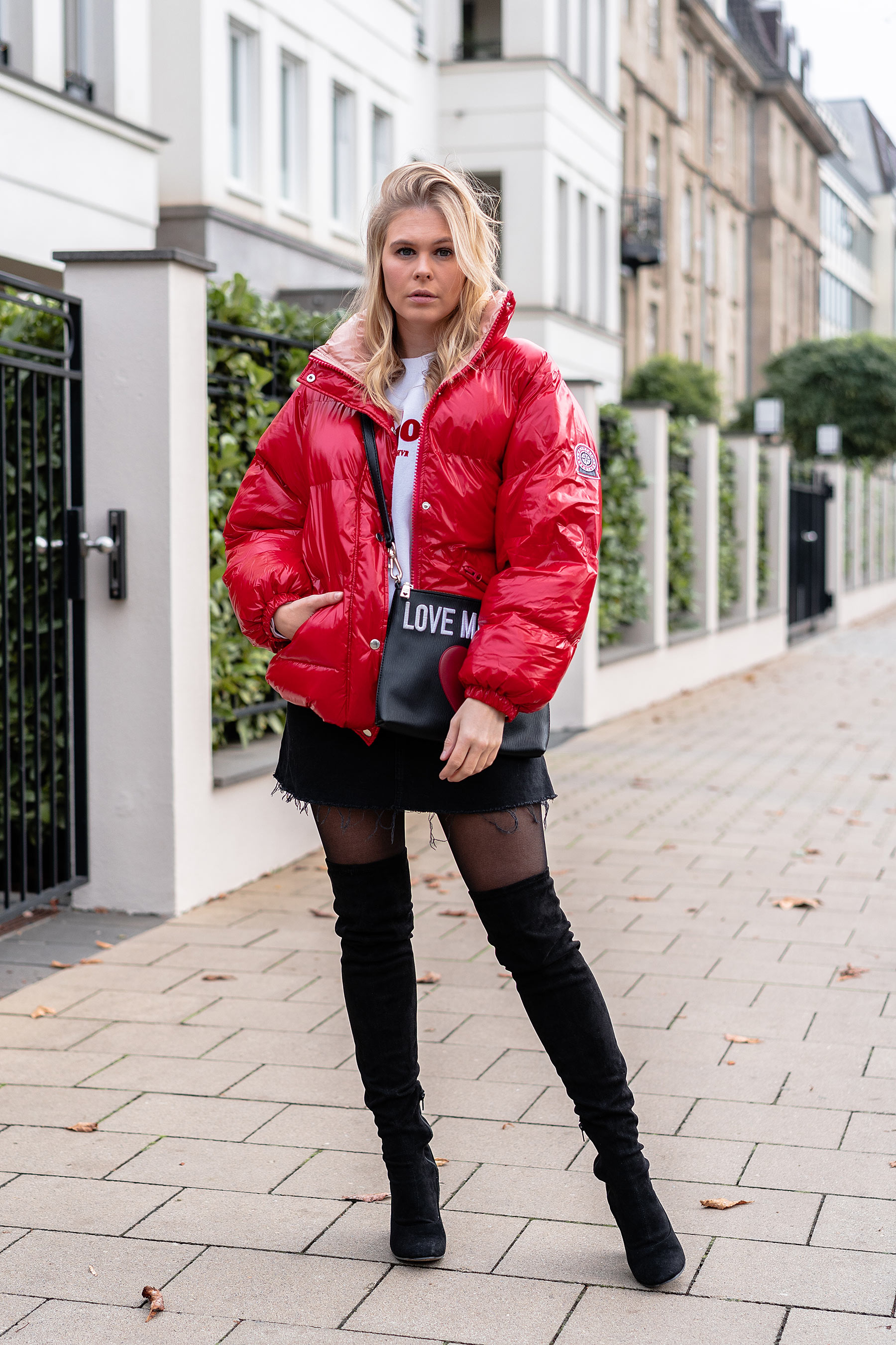 streetstyle outfit puffer jacket itpiece blogger sunnyinga