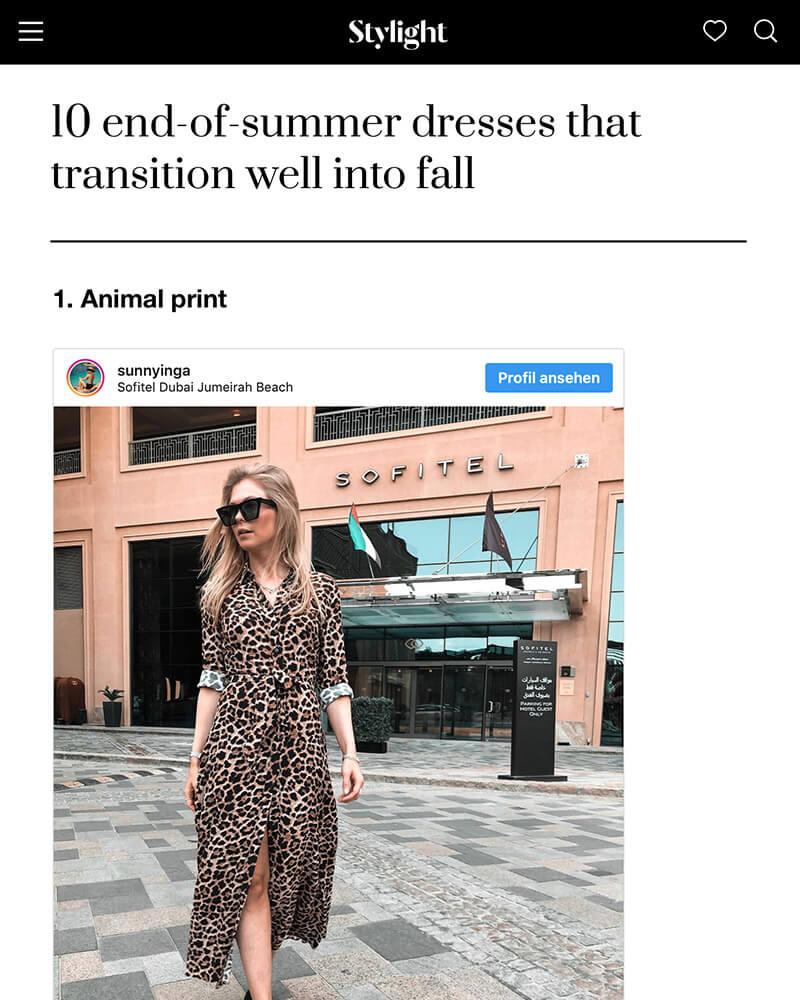 stylight summer dresses inga brauer fashion bogger sunnyinga