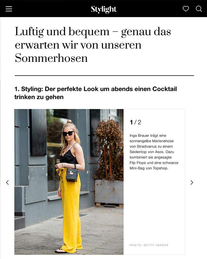 stylight sommerhosen trends inga brauer fashion bogger sunnyinga
