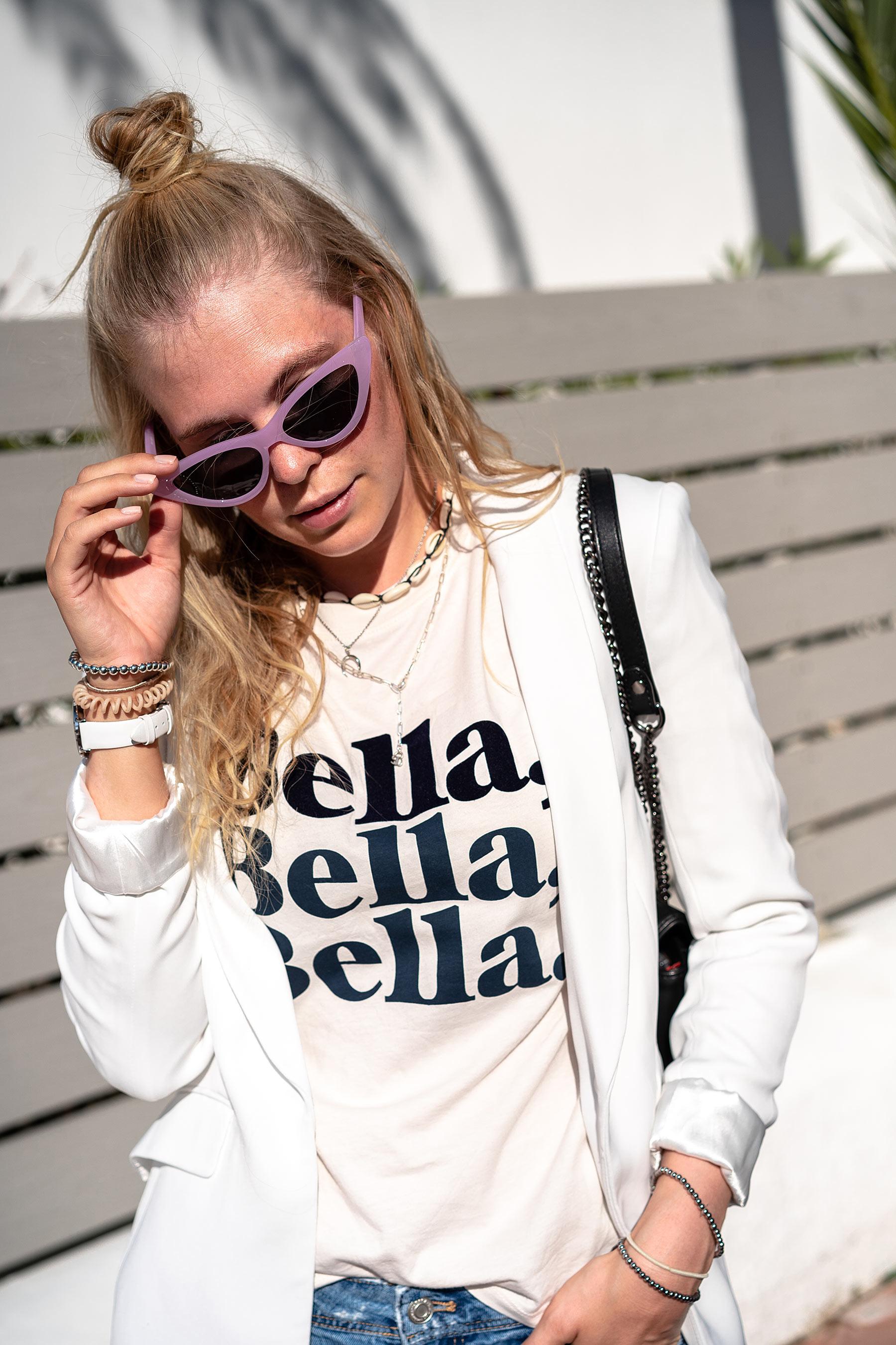 sunnyinga fashion blogger düsseldorf blazer weiss outfit