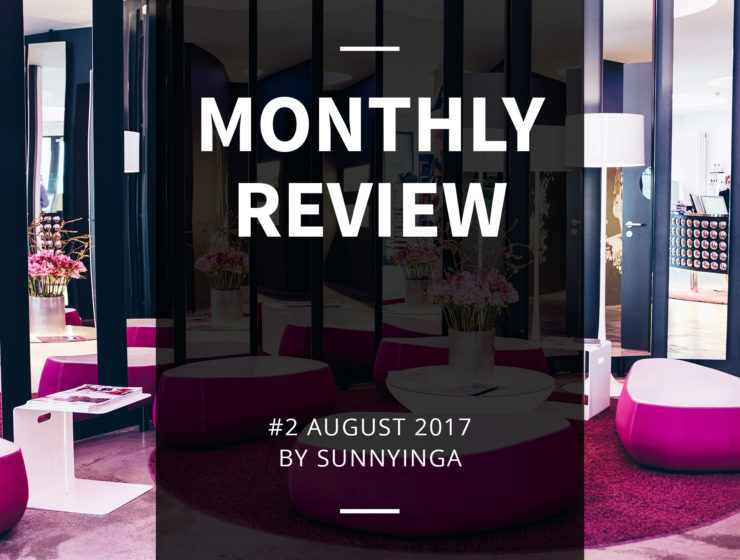Sunnyinga Monthly Review Monatsrückblick #2 August 2017