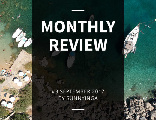 Sunnyinga Monthly Review Monatsrückblick #3 September 2017