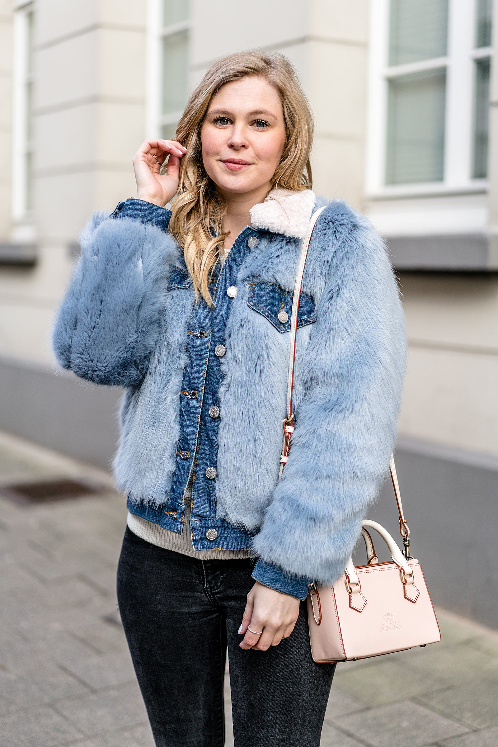 sunnyinga outfit jeansjacke fell fashion blogger düsseldorf blogdesign