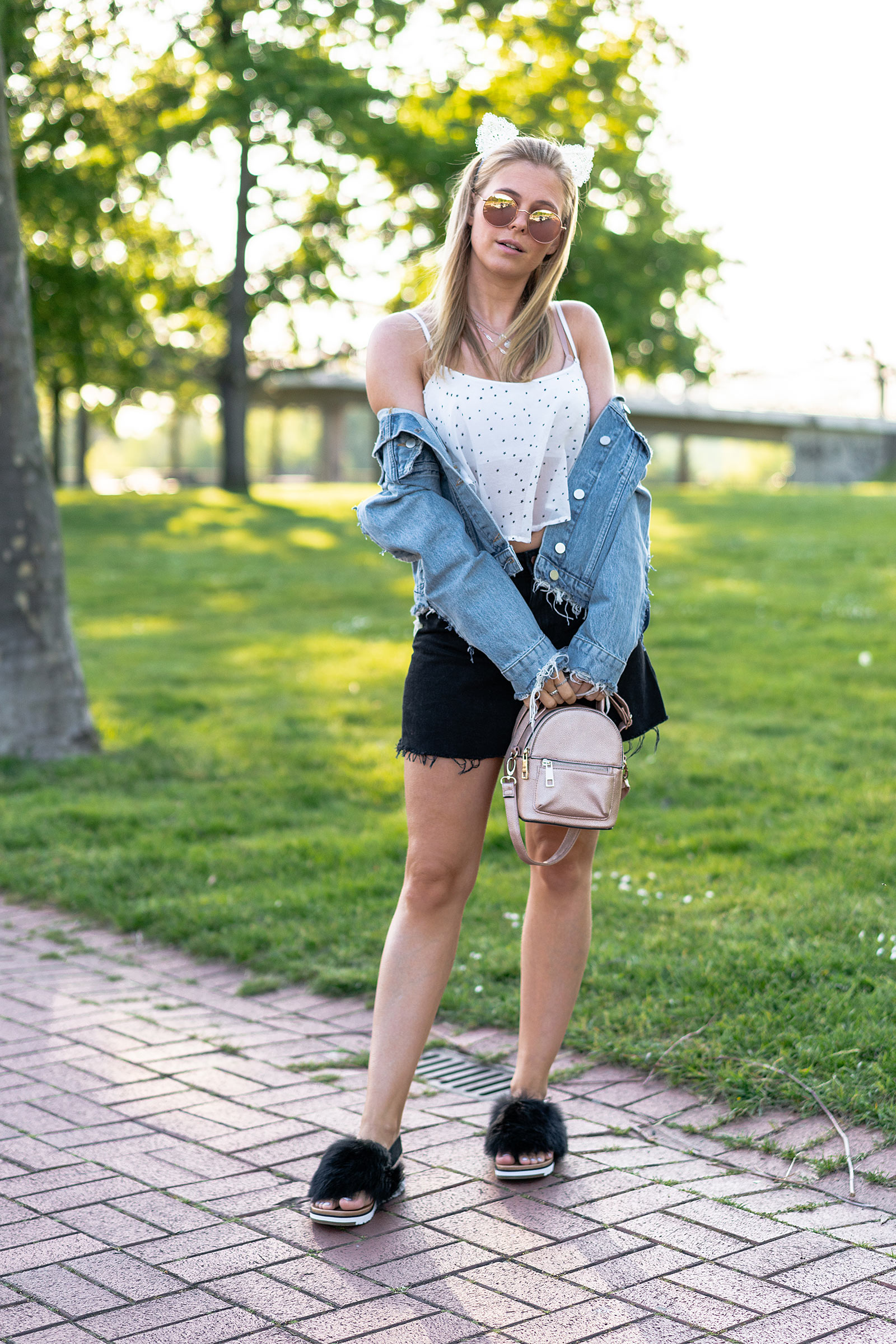ugg holly sandalen sommer outfit fashion blogger sunnyinga