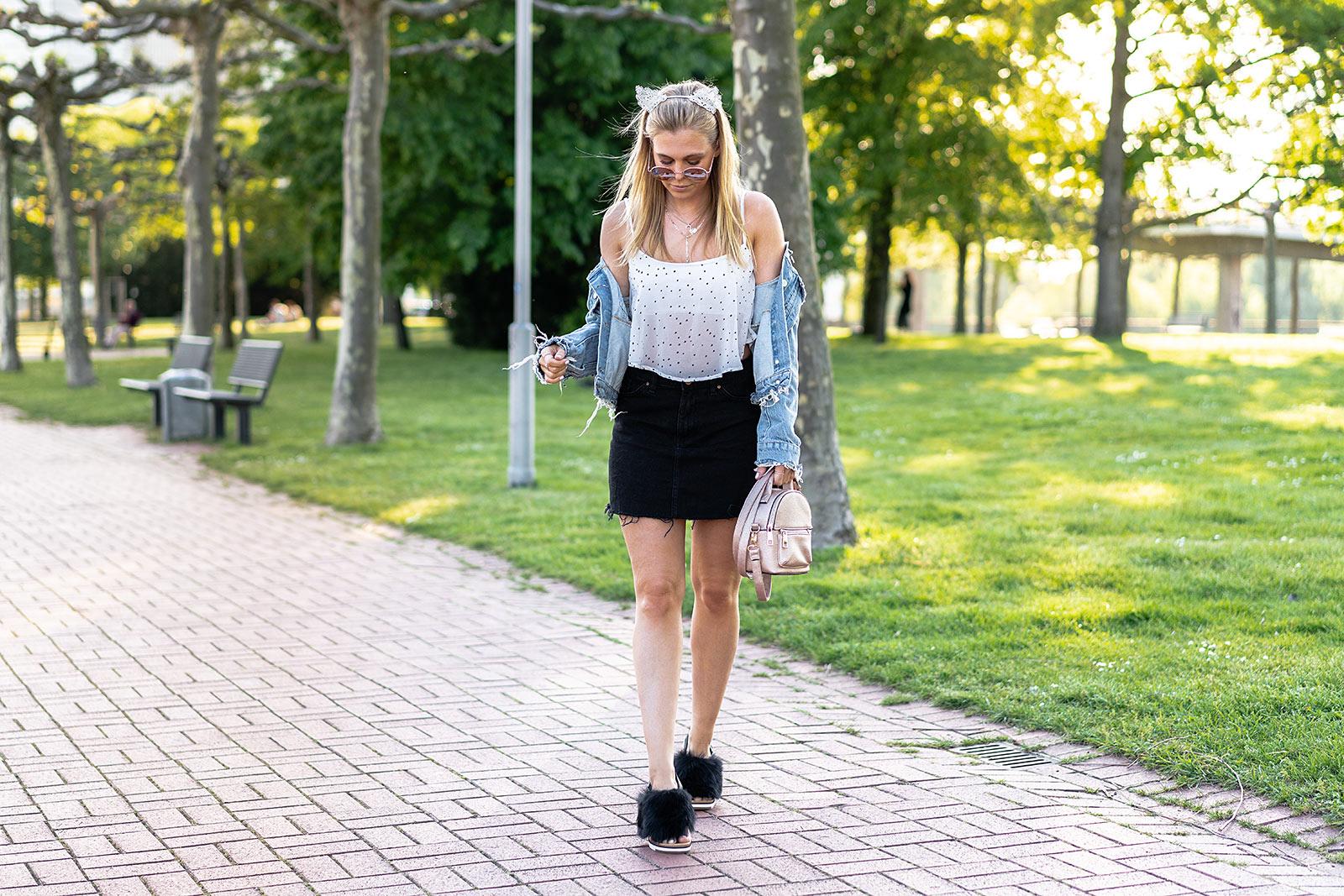ugg sandalen festival outfit fashion blogger sunnyinga düsseldorf