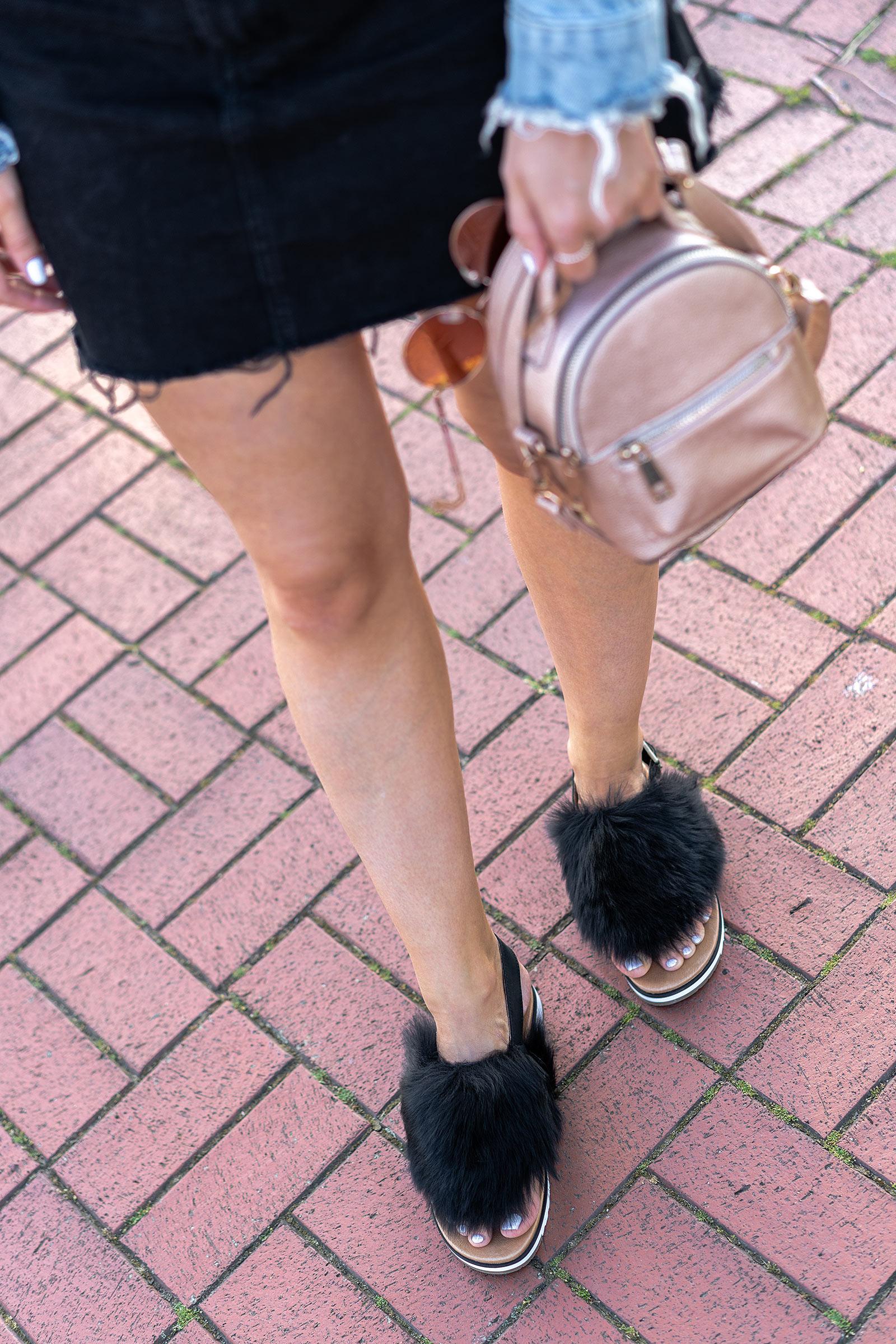 ugg sandalen holly schwarz festival kollektion modeblog sunnyinga