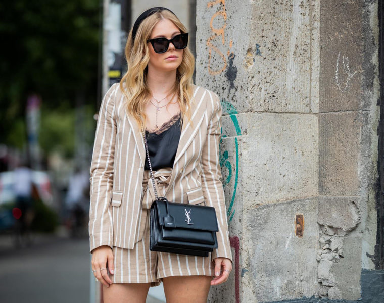 zweiteiler outfit paperbag shorts fashion blogger inga brauer sunnyinga