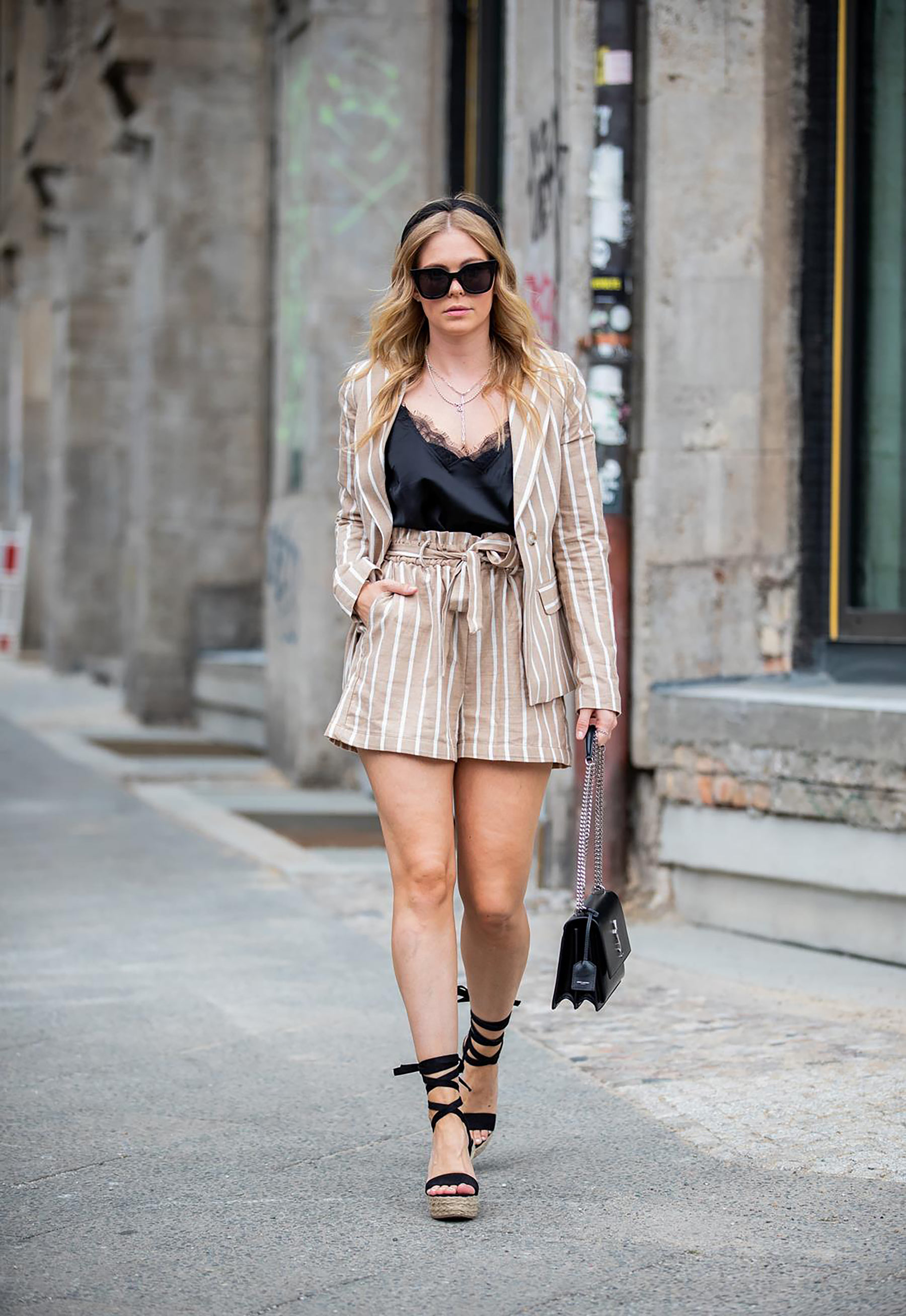 zweiteiler paperbag shorts fashion blogger streetstyle outfit inga brauer
